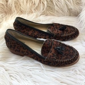 Dolce Vita Cheetah Tassel Loafer